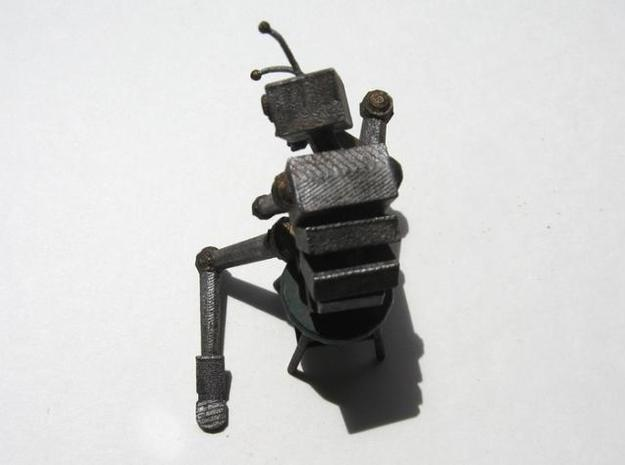 Depressed Robot V2 3d printed Better photograph of the painted WSF print from the top.