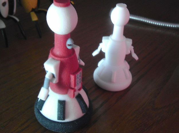 Tom Servo- Color 3d printed 2 scales shown