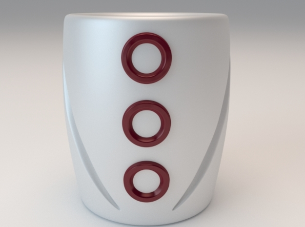 Pattern Removed Mug 1 3d printed