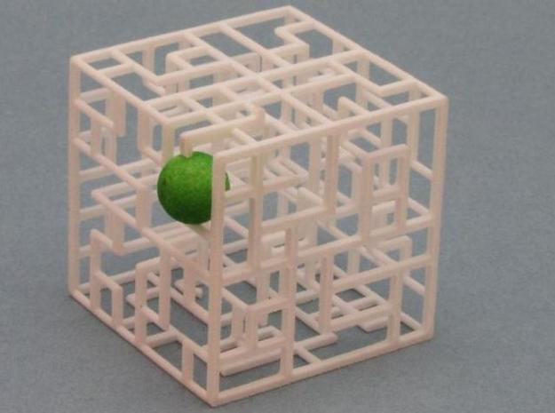 Floating Labyrinth 2-pack 666 3d printed Ball at Exit