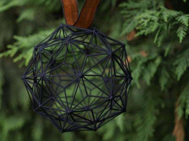 3D Printed Christmas Ball 3d printed