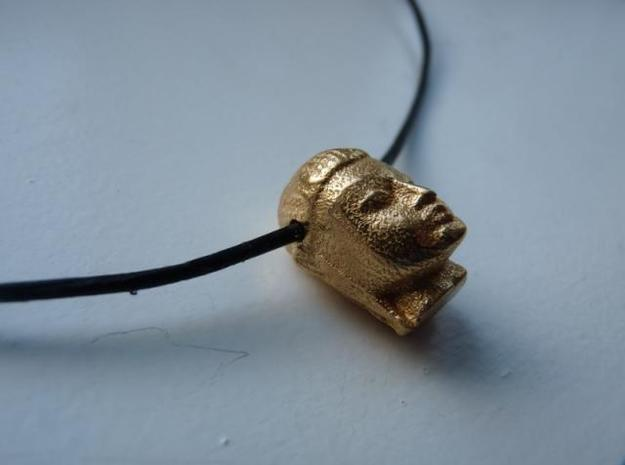My Buddha ! 3d printed Photo gold plated matte