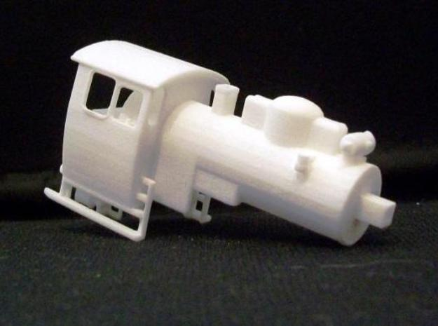 PX48 002: Boiler and cab HOe scale 3d printed PX48 002 boiler and cab print