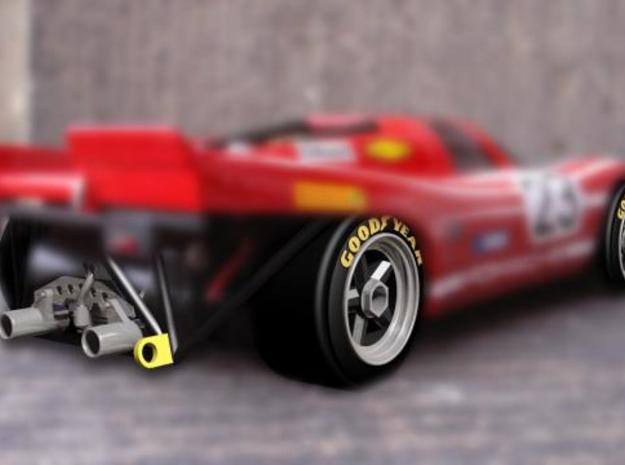 dNano 917 wheels and accessories 3d printed