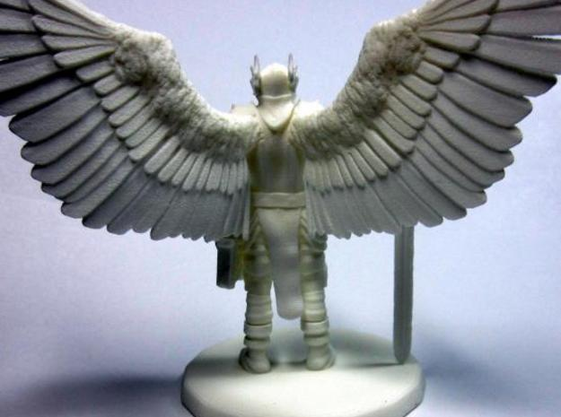 Bringer of Justice 3d printed Back - Unpainted