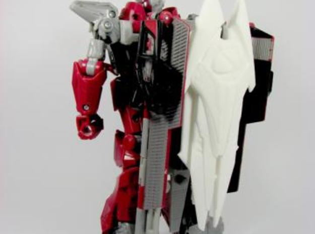 DOTM voyager Sentinel Prime weapon set 3d printed storage
