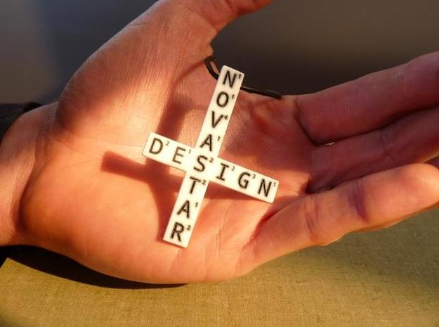Create your own Wordfeud Necklace 3d printed Photo
