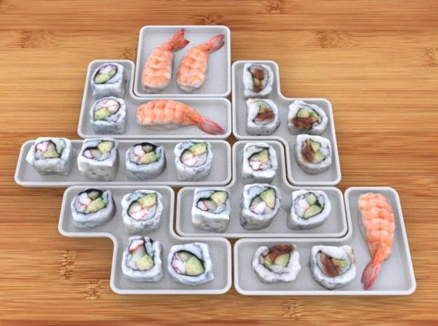 Sushi Block Set 3d printed Sushi Block Set