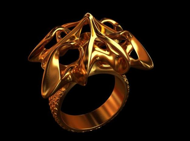 Scarab Ring 3d printed