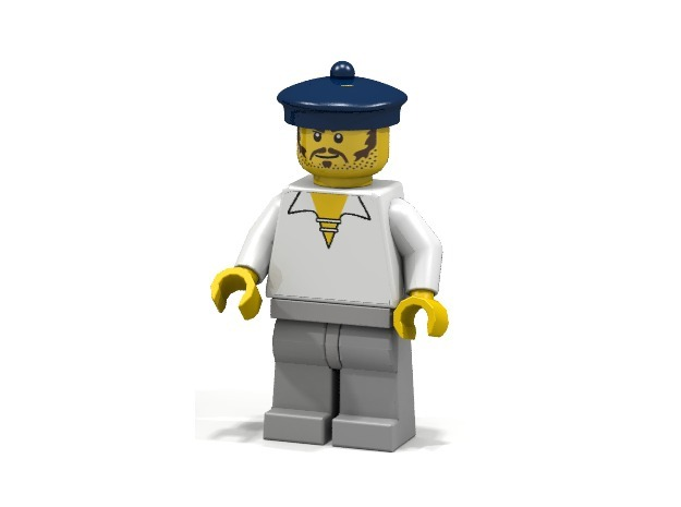 Saylor tam (tbd) 3d printed British Sailor (Render of an example Usage)