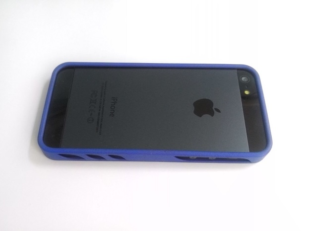 iphone 5 basic bumper 3d printed