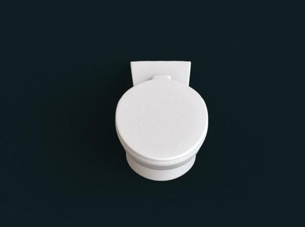 1:39 Scale Model - Flush Toilet 02 3d printed
