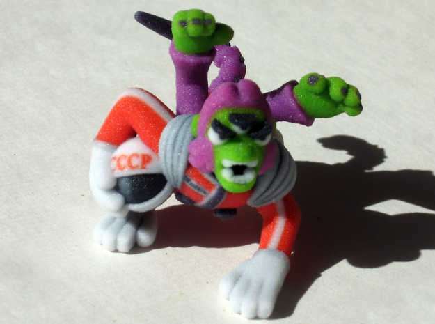 Space Monkey 3d printed