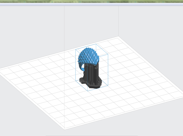 Dragonscales Ring 3d printed Preform Software