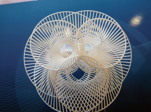 Spherical Roller Coaster 3d printed