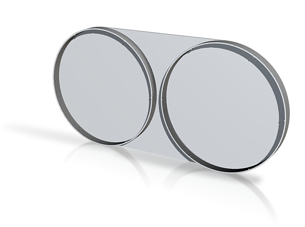 Twin Wide-angle Lens Cap 3d printed