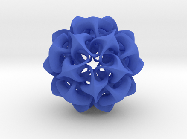 Rhombic Triacontahedron II, medium 3d printed