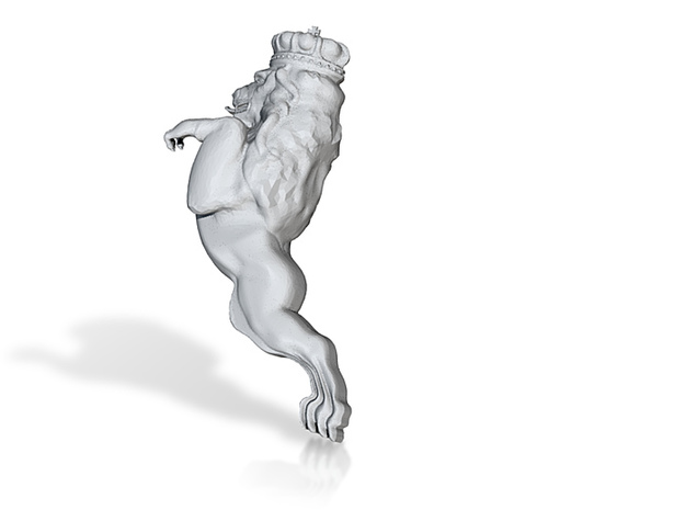 Lion figurehead 3d printed