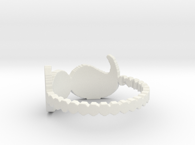 My Awesome Ring Design Ring Size 7 3d printed
