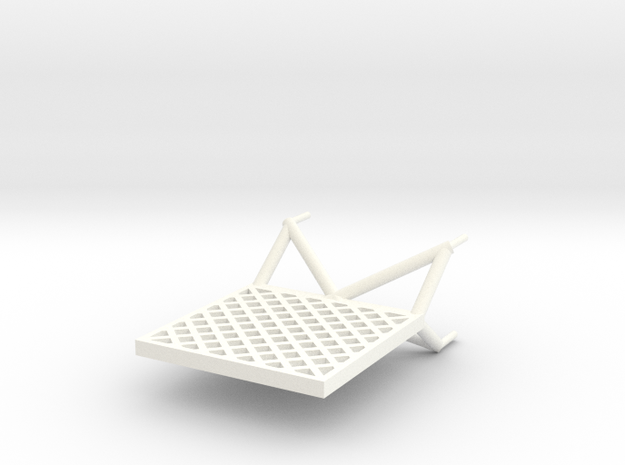 N1 Lattice Fin 1:96 3d printed
