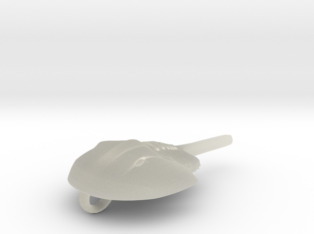 Horseshoecrab Necklace (Small) 3d printed
