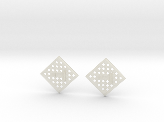 Chess Earrings - Pawn 3d printed