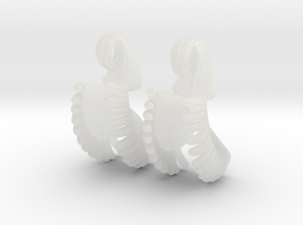 Venus Fly Trap Earrings 3d printed