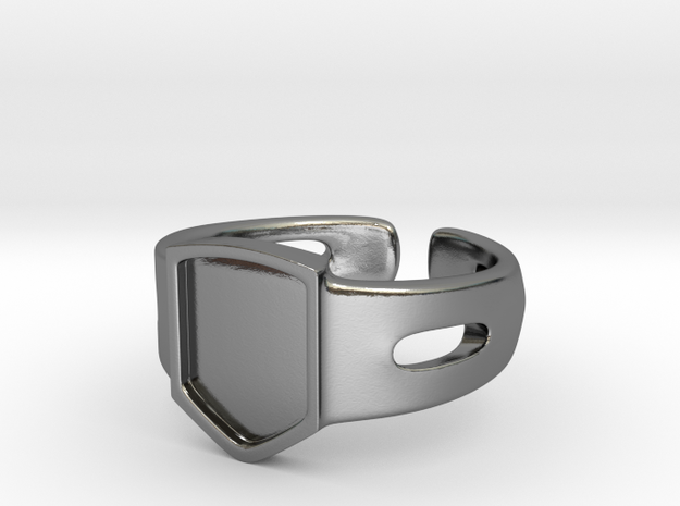 Signet Ring Blank 19mm 3d printed