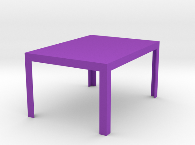 Sei Modern Dining Table 1:12 scale 3d printed