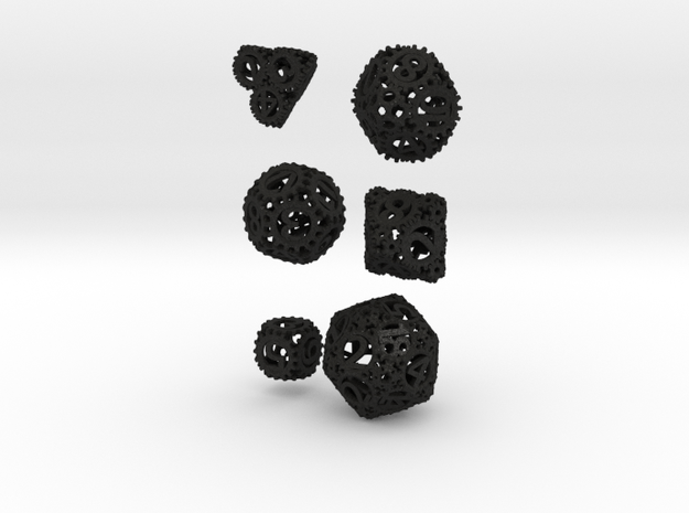 Static Gear Die Bundle 3d printed