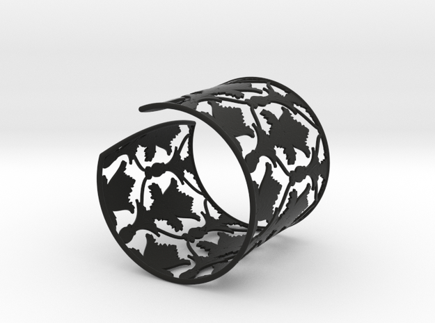 Sherlock Cuff: Solid version - Size S 3d printed