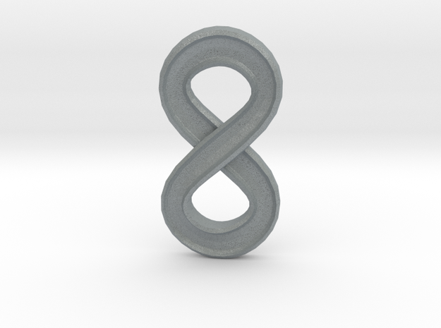 Infinity (large) 3d printed