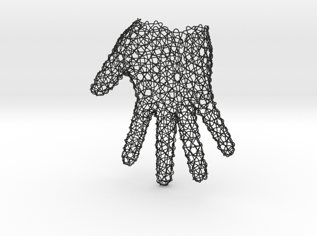 Woven glove 3d printed