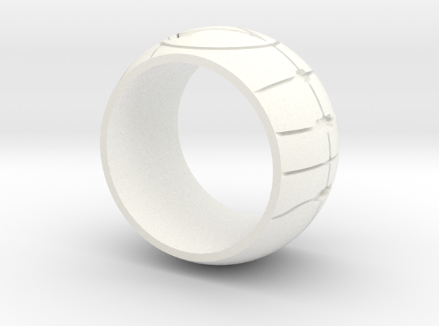 Apple of Eden Assassin Ring 3d printed Gold Gloss - Read Below