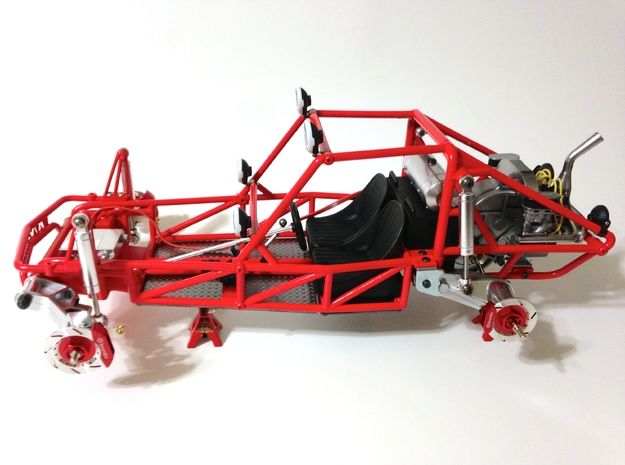 FA20003 Sand Rail Chassis Rear 3d printed