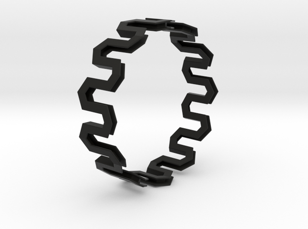 Medium Size - Pattern Bracelet 3d printed