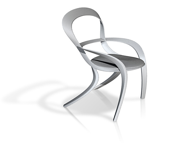 Oval Concept Chair 3d printed