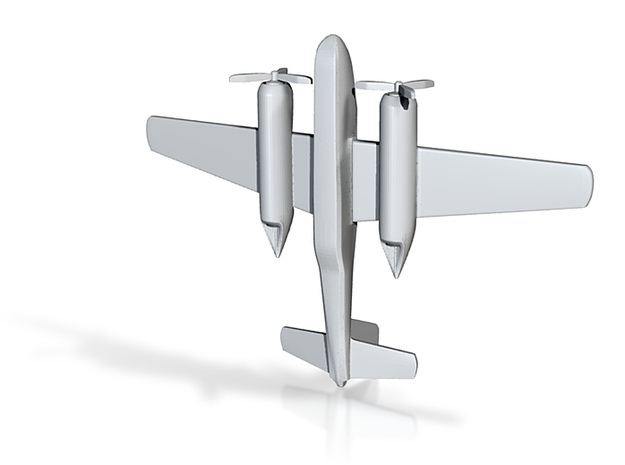 1/285 (6mm) A-26 Invader 3d printed