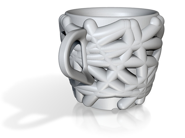 one cup a day | Day 04: Bird Nest Cup 3d printed