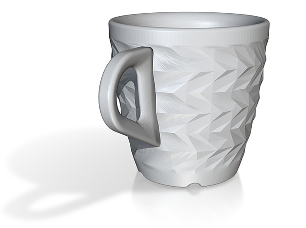 one cup a day   Day 12: ZigZag Cup 3d printed