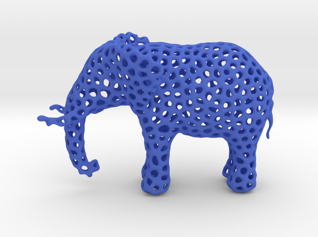 The Osseous Elephant 3d printed