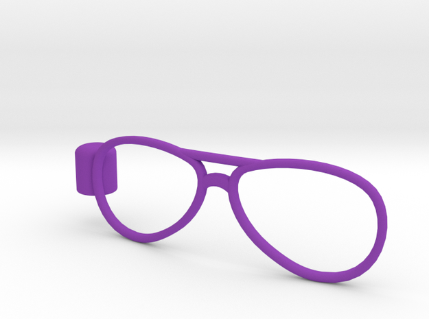Glasses Penciltop: The Flyer 3d printed