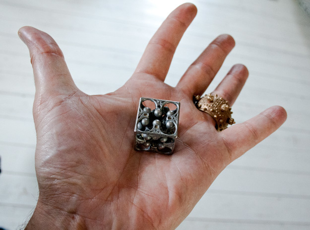 GOD's DICE 3d printed