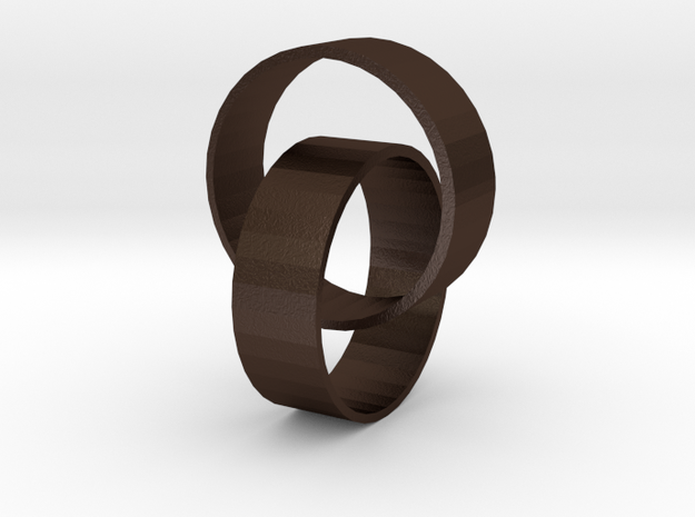 Two rings 3d printed
