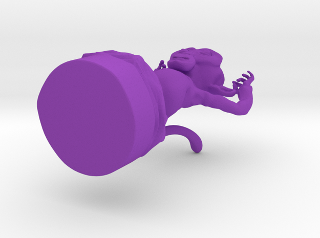 test monkey 3d printed