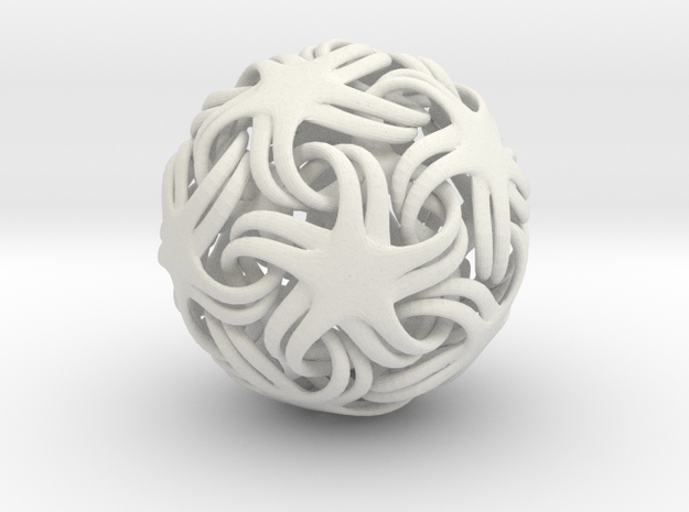 Spider Sphere 0.030 3d printed