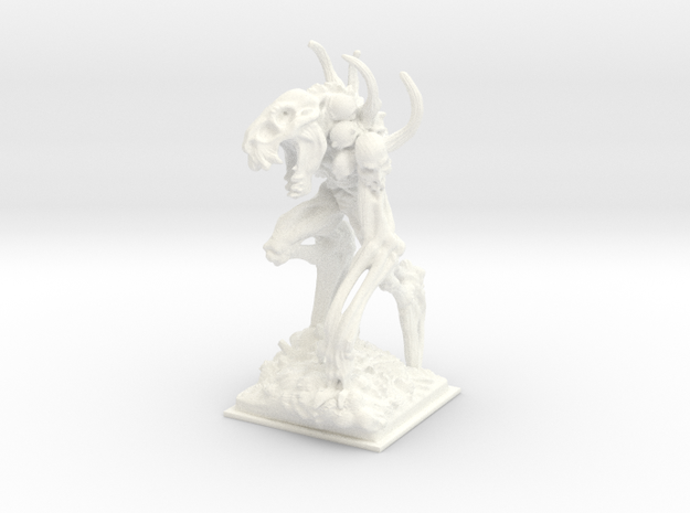 Bone golem miniature 39mm 3d printed