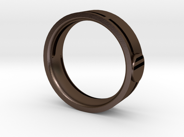 Men's Wedding Band 3d printed