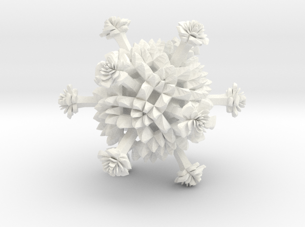 Cauli star 3d printed