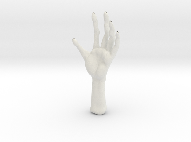 Another monster hand test 3d printed